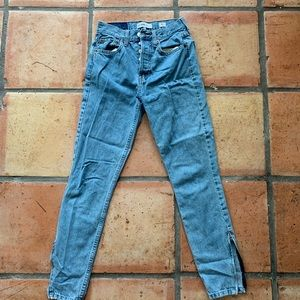 re/done jeans size 24 worn once
